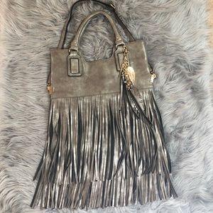 Aldo Bags - Aldo leather fringed purse